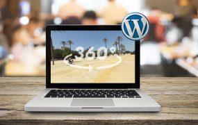 Cómo insertar un vídeo o fotografía 360 grados en wordpress